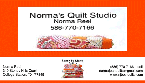 norma reel quilting